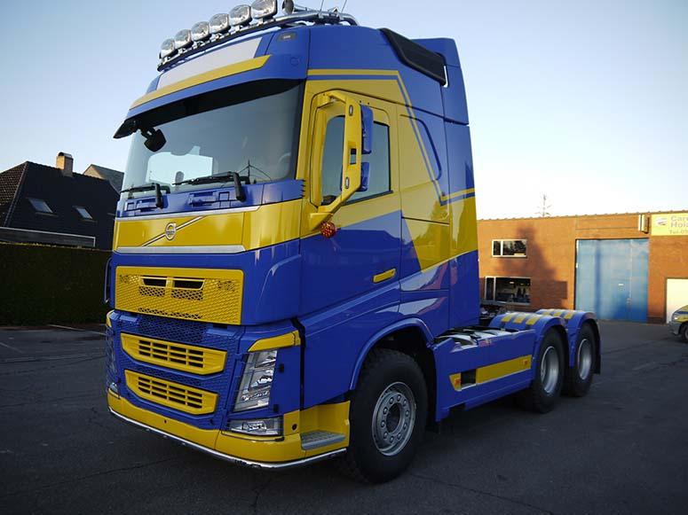 Herspuiten vrachtwagen Staden
