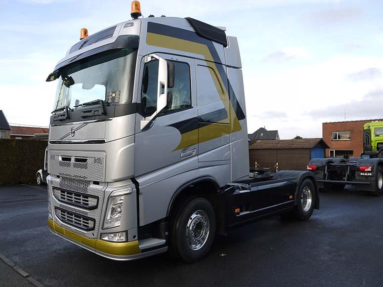 Herstellen carrosserie vrachtwagens Roeselare