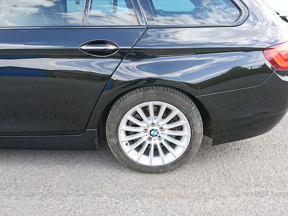 Herspuiten BMW na