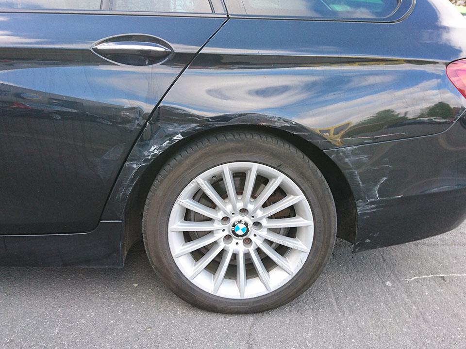 Herspuiten BMW voor